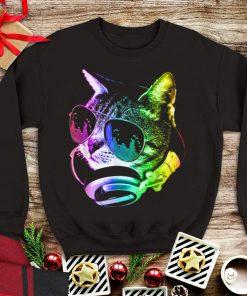 Top Rainbow Music Dj Cat shirt 1 1 247x296 - Top Rainbow Music Dj Cat shirt