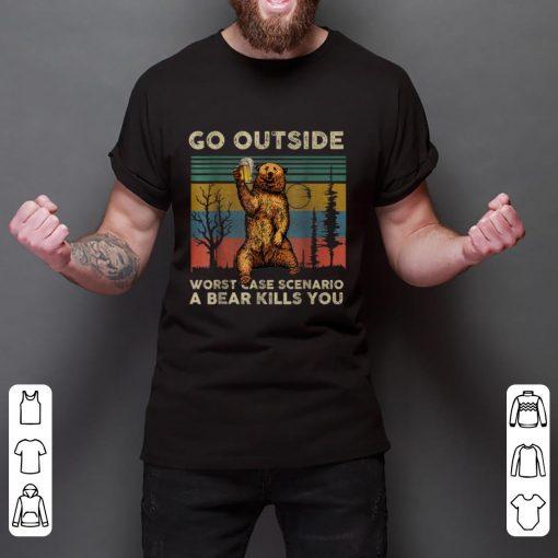Top Vintage Go Outside Worst Case Scenario A Bear Kills You shirt 2 1 510x510 - Top Vintage Go Outside Worst Case Scenario A Bear Kills You shirt
