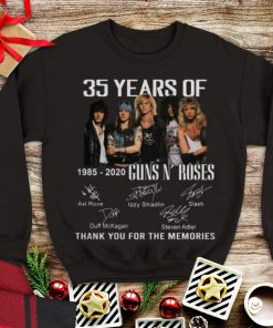 Awesome 35th Years Of Guns N Roses 1985 2020 Signature shirt 1 1 247x296 - Awesome 35th Years Of Guns N' Roses 1985-2020 Signature shirt