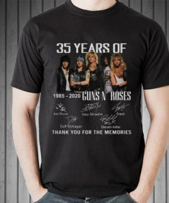 Awesome 35th Years Of Guns N Roses 1985 2020 Signature shirt 2 1 247x296 - Awesome 35th Years Of Guns N' Roses 1985-2020 Signature shirt