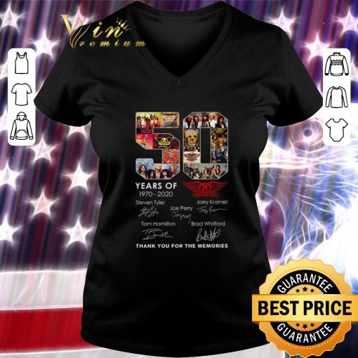 Awesome 50 years of Aerosmith 1970 2020 Signatures Steven Tyler shirt 3 1 510x510 - Awesome 50 years of Aerosmith 1970-2020 Signatures Steven Tyler shirt