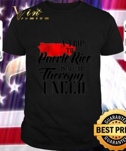 Awesome A trip to Puerto Rico is all the therapy i need shirt 1 1 247x296 - Awesome A trip to Puerto Rico is all the therapy i need shirt