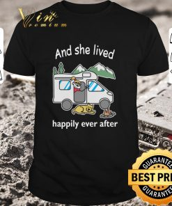 Awesome And she lived happily ever after camping shirt 1 1 247x296 - Awesome And she lived happily ever after camping shirt