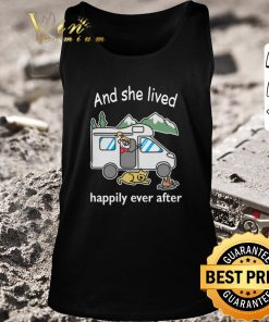 Awesome And she lived happily ever after camping shirt 2 1 247x296 - Awesome And she lived happily ever after camping shirt