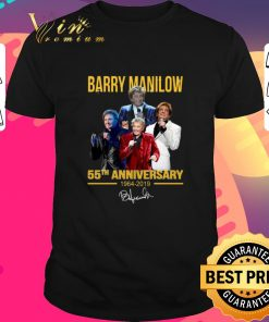 Awesome Barry Manilow 55th anniversary 1964 2019 signature shirt 1 2 1 247x296 - Awesome Barry Manilow 55th anniversary 1964-2019 signature shirt