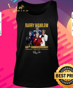 Awesome Barry Manilow 55th anniversary 1964 2019 signature shirt 2 1 247x296 - Awesome Barry Manilow 55th anniversary 1964-2019 signature shirt
