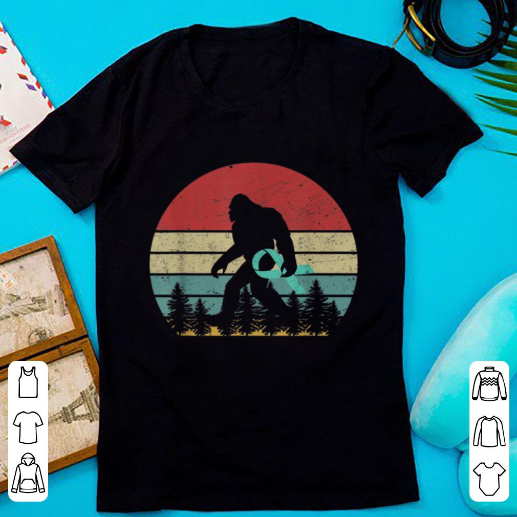 Awesome Bigfoot Cancer Awareness Vintage shirt