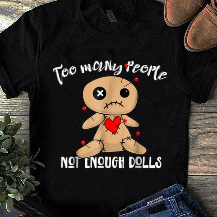 Awesome Funny Halloweens for Women Voodoo Dolls shirt