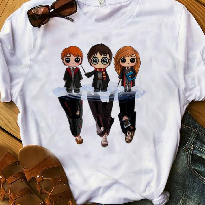 Awesome harry potter water reflection mirror harry ron and hermione shirt 1 1 247×296  awesome harry potter water reflection mirror harry ron and hermione shirt