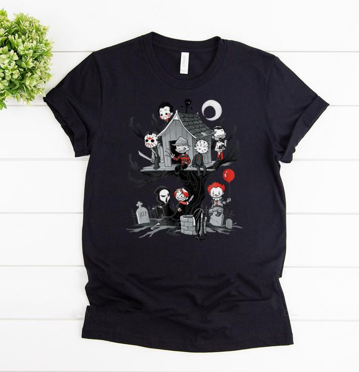 Awesome Horror Clubhouse Horror Character shirts