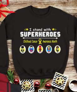 Awesome I Stand With Superheroes Childhood Cancer Awareness Month shirt 1 1 247x296 - Awesome I Stand With Superheroes Childhood Cancer Awareness Month shirt