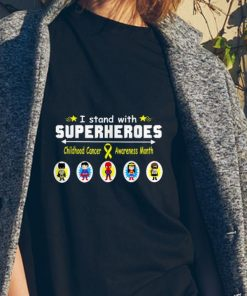 Awesome I Stand With Superheroes Childhood Cancer Awareness Month shirt 2 1 247x296 - Awesome I Stand With Superheroes Childhood Cancer Awareness Month shirt