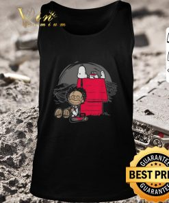 Awesome Leatherface and Snoopy s House shirt 2 1 247x296 - Awesome Leatherface and Snoopy's House shirt