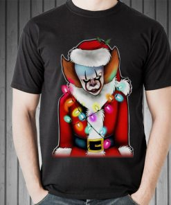 Awesome Pennywise Santa Claus Halloween Christmas shirt 2 1 247x296 - Awesome Pennywise Santa Claus Halloween Christmas shirt