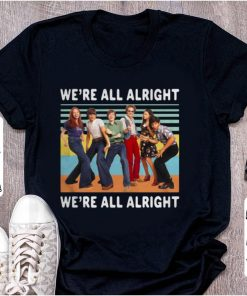Awesome Vintage We re All Alright We re All Alright That s 70s Show shirt 1 1 247x296 - Awesome Vintage We're All Alright We're All Alright That's 70s Show shirt