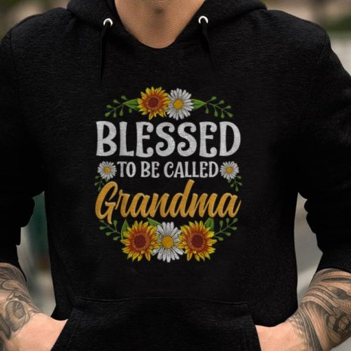 Blessed To Be Called Grandma Sunflower shirts 2 1 510x510 - Blessed To Be Called Grandma Sunflower shirts