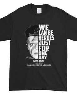 Funny David Bowie 1947 2016 we can be heroes just for one day shirt 1 1 247x296 - Funny David Bowie 1947-2016 we can be heroes just for one day shirt