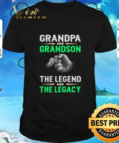 Funny Grandpa and grandson the legend and the legacy shirt 1 1 247x296 - Funny Grandpa and grandson the legend and the legacy shirt
