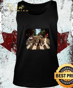 Funny Horror film characters walking Abbey Road shirt 2 1 247x296 - Funny Horror film characters walking Abbey Road shirt