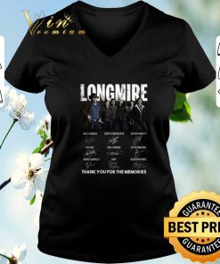 Funny Longmire signatures thank you for the memories Recovered shirt sweater 2 1 247x296 - Funny Longmire signatures thank you for the memories-Recovered shirt sweater