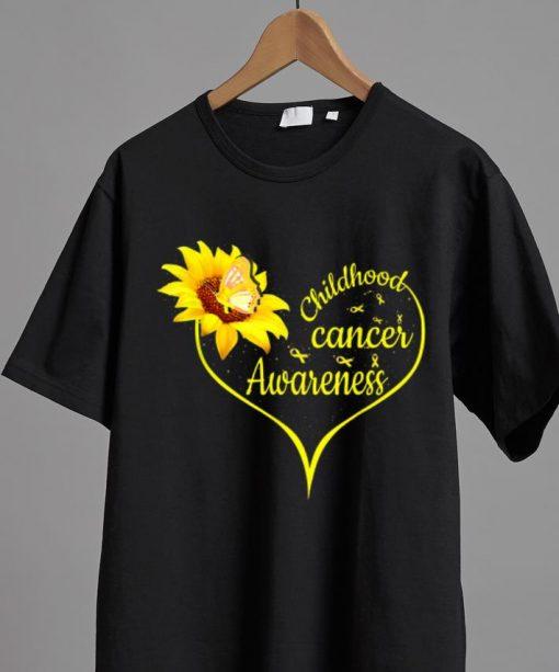 Hot Childhood Cancer Awareness Flower Butterfly Gold Ribbon shirt 2 1 510x613 - Hot Childhood Cancer Awareness Flower Butterfly Gold Ribbon shirt