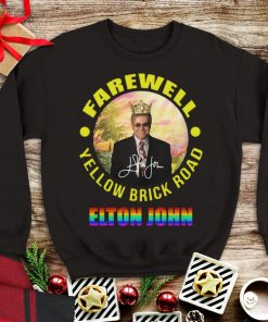Hot Elton John Farewell Yellow Brick Road Signature LGBT shirt 1 1 247x296 - Hot Elton John Farewell Yellow Brick Road Signature LGBT shirt