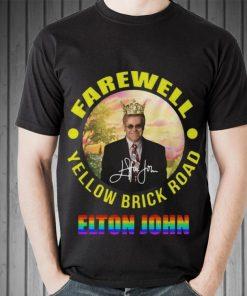 Hot Elton John Farewell Yellow Brick Road Signature LGBT shirt 2 1 247x296 - Hot Elton John Farewell Yellow Brick Road Signature LGBT shirt