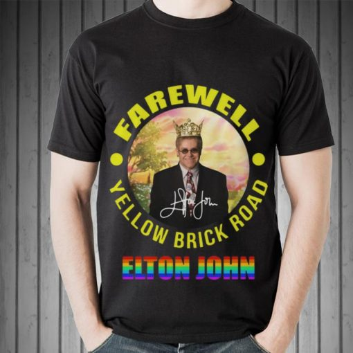 Hot Elton John Farewell Yellow Brick Road Signature LGBT shirt 2 1 510x510 - Hot Elton John Farewell Yellow Brick Road Signature LGBT shirt