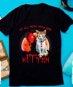 Hot Halloween We All Meow Down Here Kitten IT Clown Cat shirt 1 1 247x296 - Hot Halloween We All Meow Down Here Kitten IT Clown Cat shirt