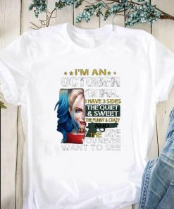 Hot Harley Quinn I m a october girl i have 3 sides the quiet sweet shirt 1 1 247x296 - Hot Harley Quinn I'm a october girl i have 3 sides the quiet sweet shirt