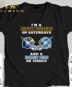 Hot I m a Michigan Wolverines on Saturdays Detroit Lions on Sundays shirt 1 1 247x296 - Hot I'm a Michigan Wolverines on Saturdays Detroit Lions on Sundays shirt