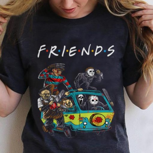 Hot Michael Myers Friends In Bus With Horror Character shirt 3 1 510x510 - Hot Michael Myers Friends In Bus With Horror Character shirt