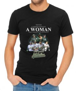 Hot Never Underestimate A Woman Who Baseball And Loves Athletics Signature shirt 2 1 247x296 - Hot Never Underestimate A Woman Who Baseball And Loves Athletics Signature shirt
