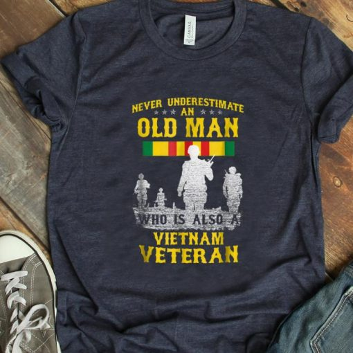 Hot Never Underestimate an Old Man Who Is Also A Vietnam Veteran shirt 1 1 510x510 - Hot Never Underestimate an Old Man Who Is Also A Vietnam Veteran shirt