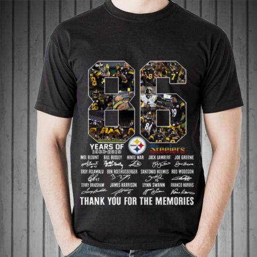 Hot Pittsburgh Steelers 86th Anniversary 1933 2019 Signatures shirt 2 1 510x510 - Hot Pittsburgh Steelers 86th Anniversary 1933-2019 Signatures shirt