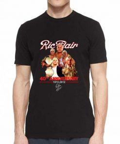 Hot Ric Flair 40th anniversary 1972 2012 signature shirt 2 1 247x296 - Hot Ric Flair 40th anniversary 1972-2012 signature shirt