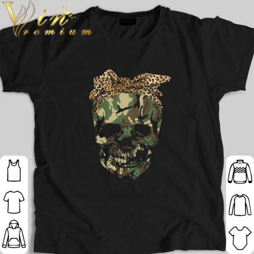 Hot Veteran skull wearing bandana leopard shirt 1 1 510x510 - Hot Veteran skull wearing bandana leopard shirt