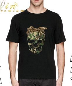 Hot Veteran skull wearing bandana leopard shirt 2 1 247x296 - Hot Veteran skull wearing bandana leopard shirt