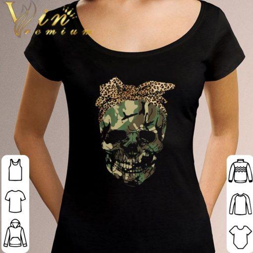 Hot Veteran skull wearing bandana leopard shirt 3 1 510x510 - Hot Veteran skull wearing bandana leopard shirt