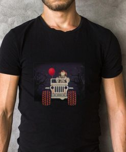 Jeep and Pennywise IT Halloween shirt 2 1 247x296 - Jeep and Pennywise IT Halloween shirt