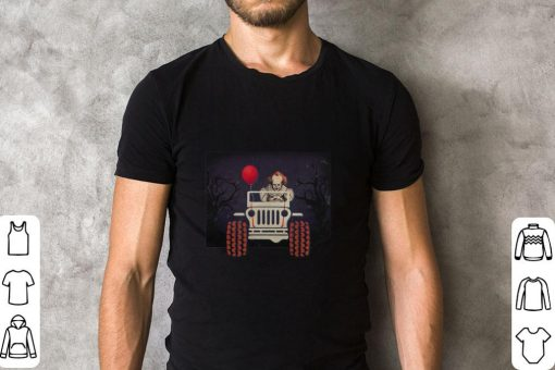 Jeep and Pennywise IT Halloween shirt 2 1 510x340 - Jeep and Pennywise IT Halloween shirt