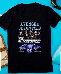 Nice 20th Anniversary 1999 2019 Signatures Avenged Sevenfold shirt 1 1 247x296 - Nice 20th Anniversary 1999-2019 Signatures Avenged Sevenfold shirt