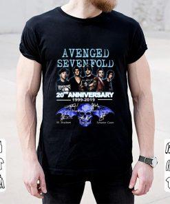 Nice 20th Anniversary 1999 2019 Signatures Avenged Sevenfold shirt 2 1 247x296 - Nice 20th Anniversary 1999-2019 Signatures Avenged Sevenfold shirt