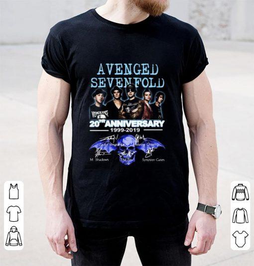 Nice 20th Anniversary 1999 2019 Signatures Avenged Sevenfold shirt 2 1 510x534 - Nice 20th Anniversary 1999-2019 Signatures Avenged Sevenfold shirt