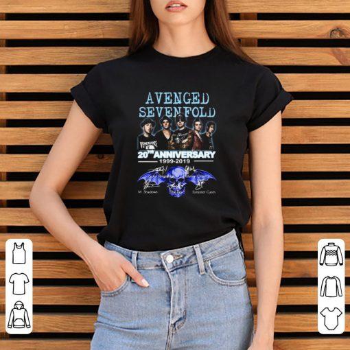 Nice 20th Anniversary 1999 2019 Signatures Avenged Sevenfold shirt 3 1 510x510 - Nice 20th Anniversary 1999-2019 Signatures Avenged Sevenfold shirt