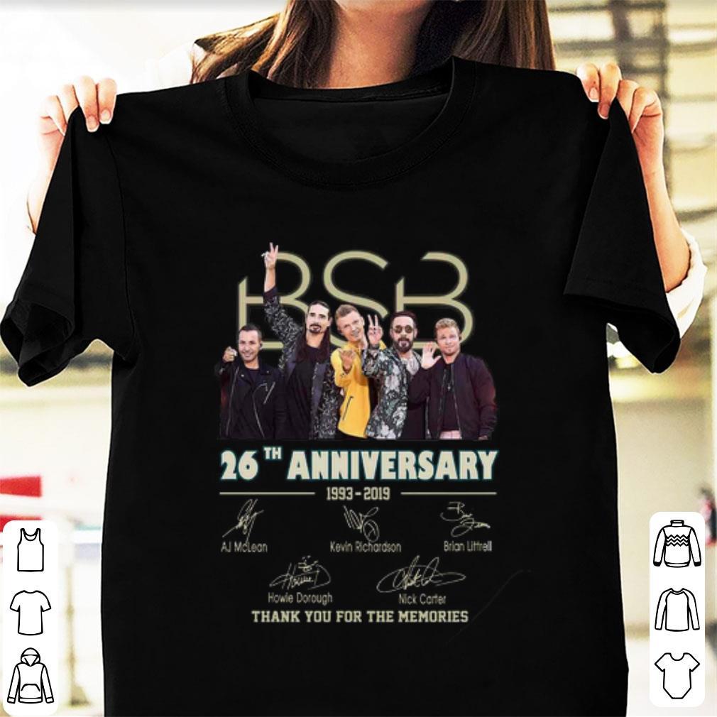 Backstreet Boys Christmas Sweater.Nice 26 Years Of Backstreet Boys 1993 2019 Signature Shirt