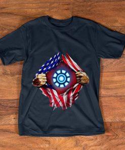 Nice American flag Iron Man Arc Reactor shirt 1 1 247x296 - Nice American flag Iron Man Arc Reactor shirt