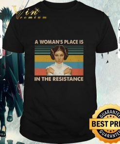 Nice Carrie Fisher A woman s place is in the resistance vintage shirt 1 1 247x296 - Nice Carrie Fisher A woman's place is in the resistance vintage shirt