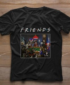 Nice Friends Horror movie characters playing card shirt 1 1 247x296 - Nice Friends Horror movie characters playing card shirt