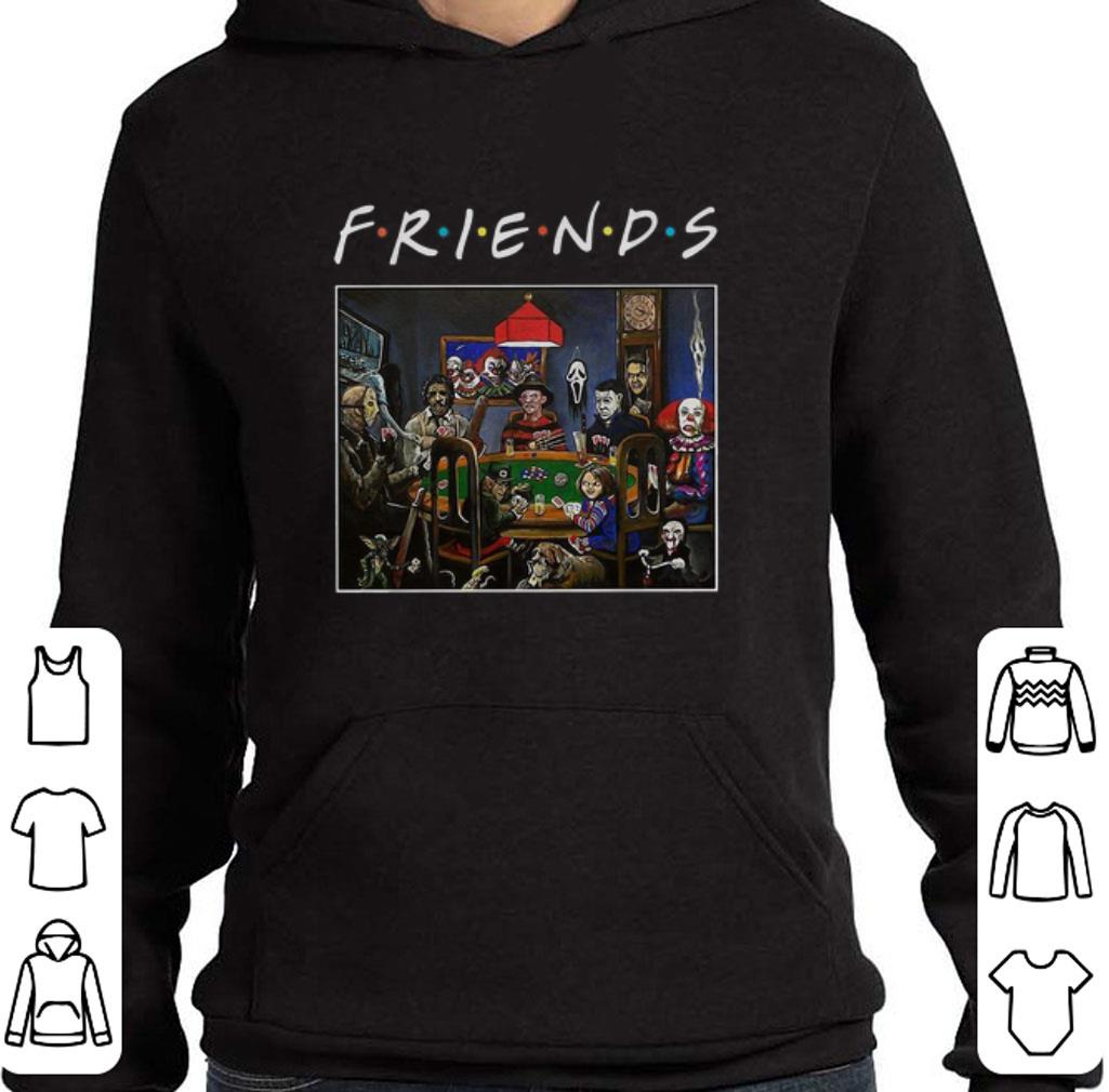 Nice Friends Horror movie characters playing card shirt